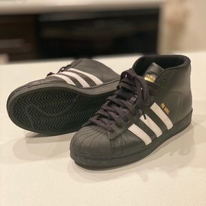 Adidas pro model shell toes